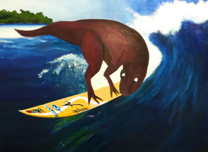 Tyranno-surfin' Rex