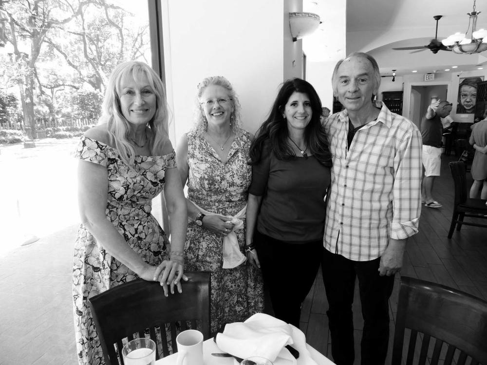 Darlene Koldenhoven, Mary Bartlein, me and Daryl Portier