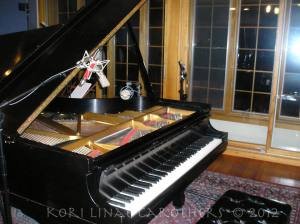 Steinway in studio