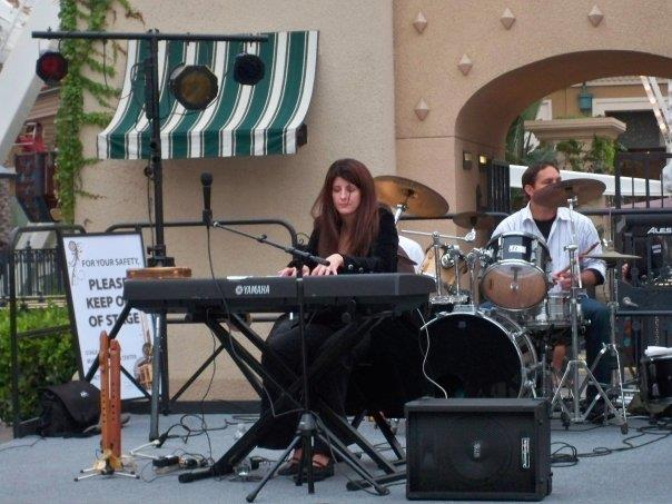Kori on Keys, drummer Larry Gravatt ( sp ).jpg