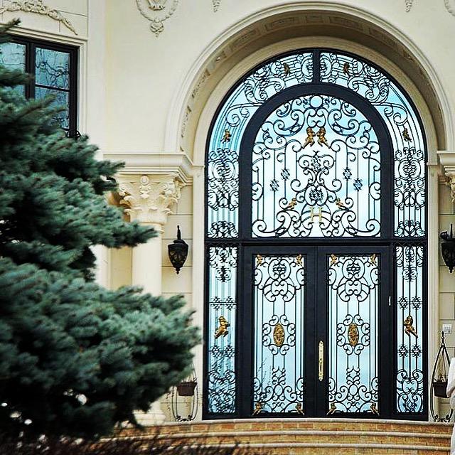 Grand Entrances Manhattan Iron Doors Co