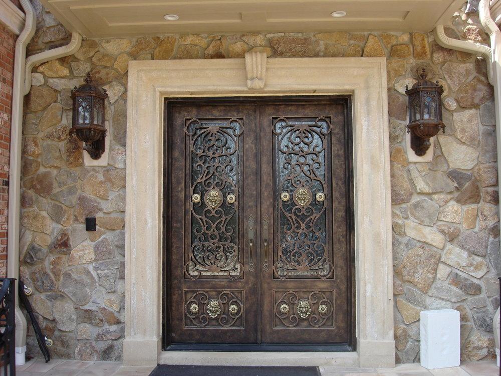 DOUBLE DOORS & Manhattan Iron Doors Co. \u2014 DOUBLE DOORS