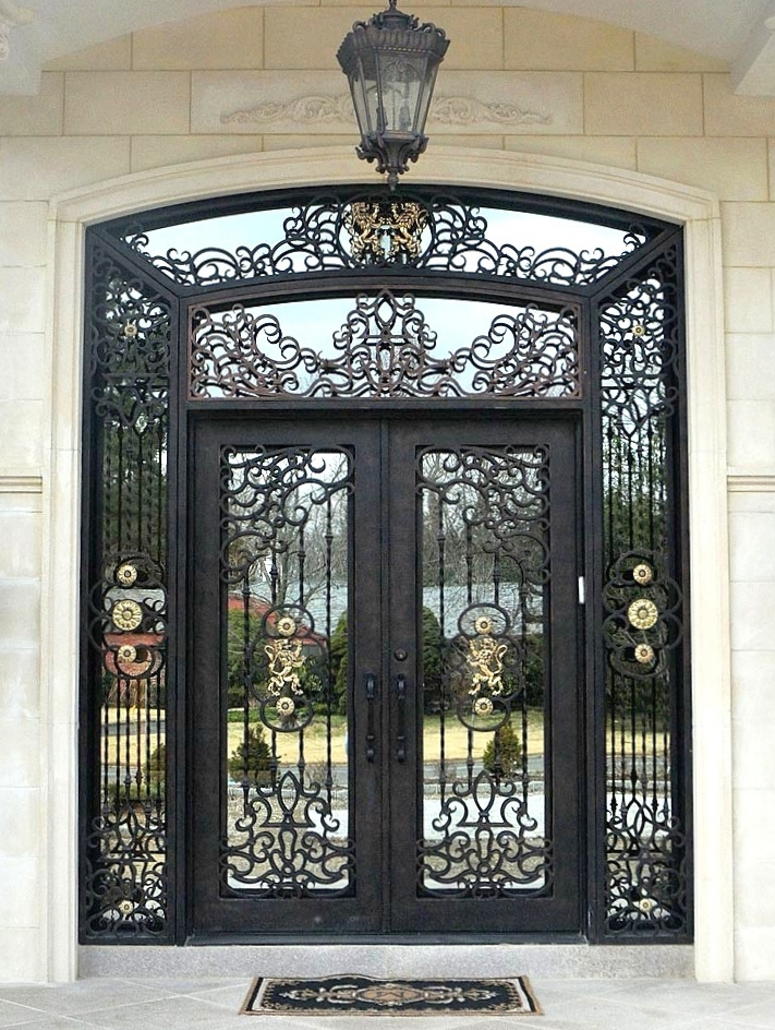 Manhattan iron doors co custom iron and steel doors for Custom made exterior steel doors