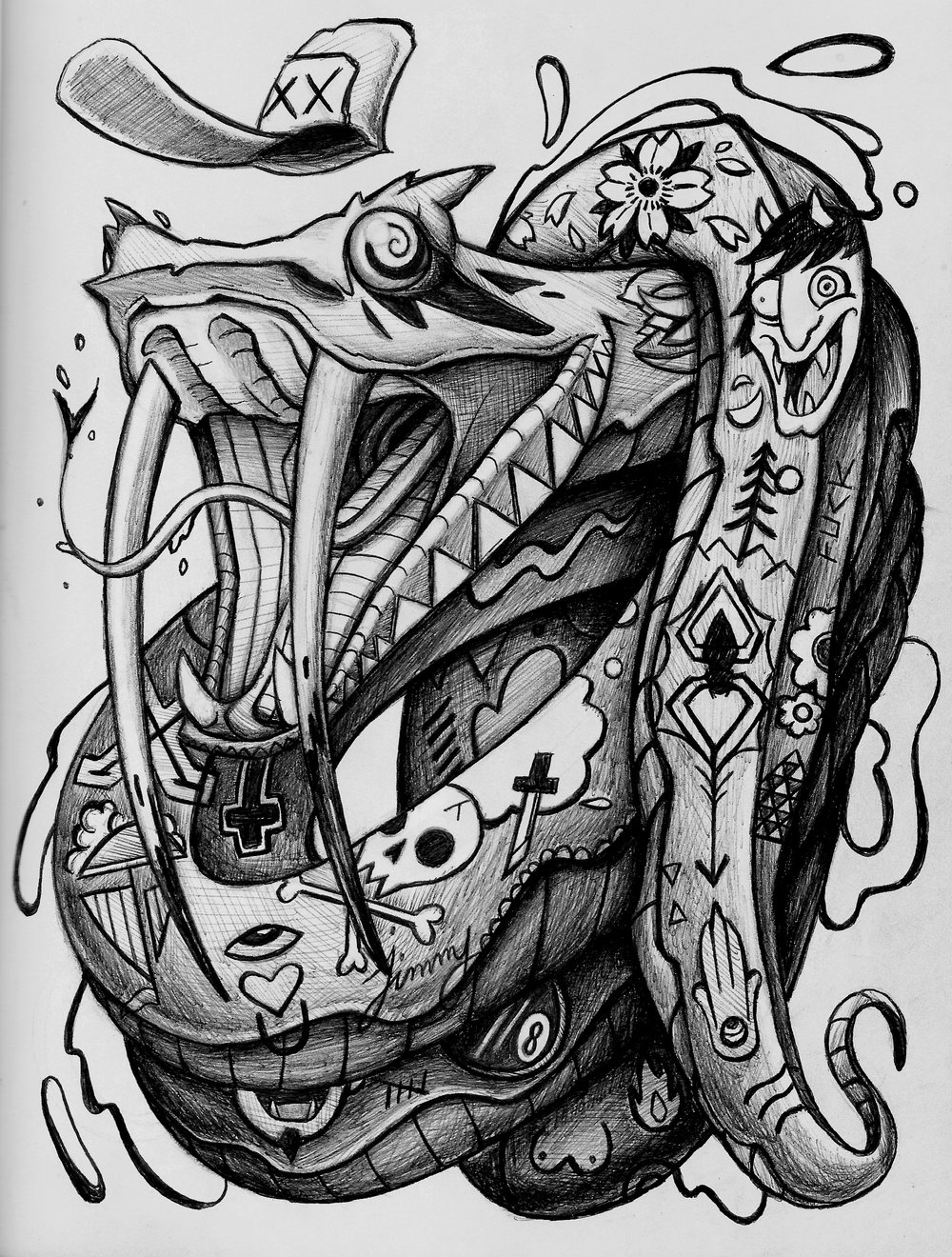 """Poison Ink (11"""" x 8"""")"""
