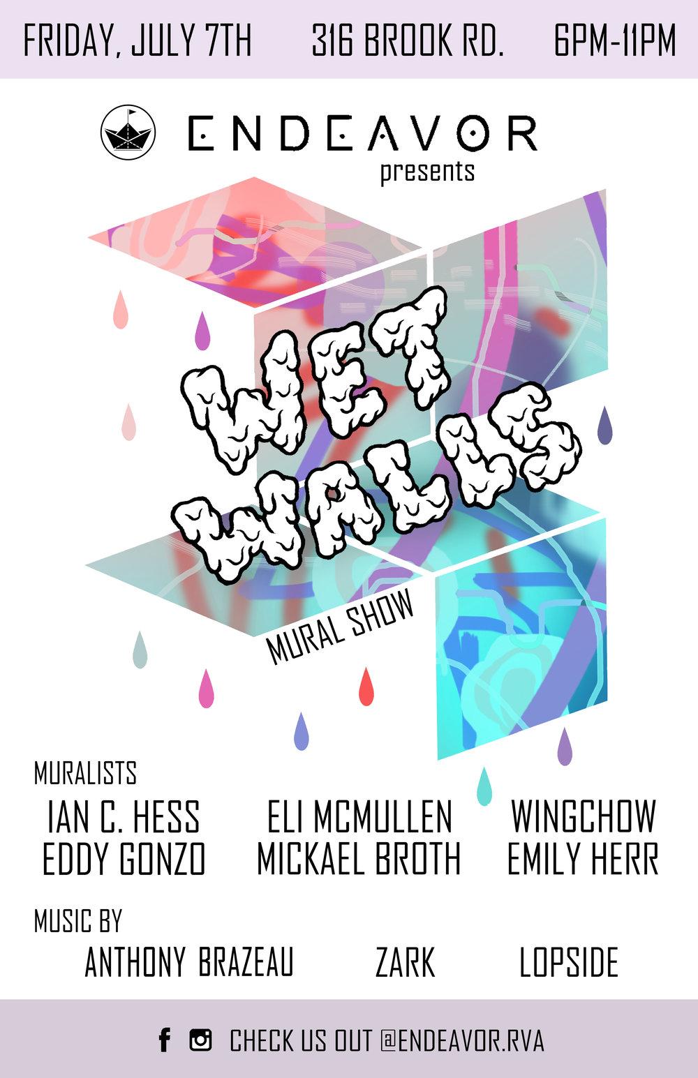 Wet Walls Mural Show