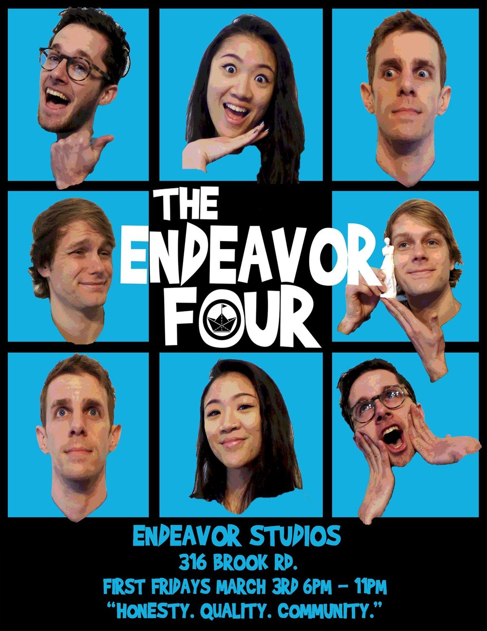 First Friday Event-The Endeavor Four