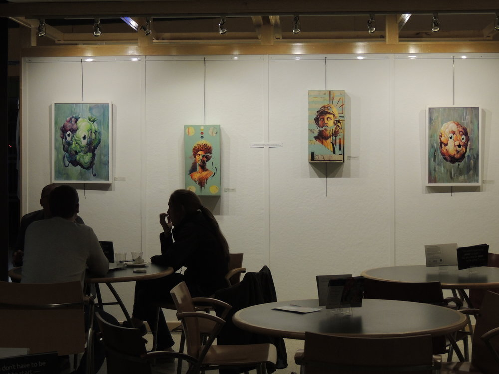 Our work will be displayed until April 28th