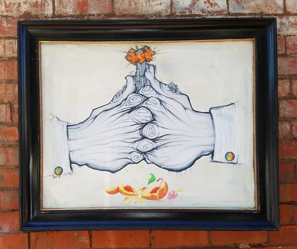 Ian C. Hess Smash Gesso Charcoal Watercolor 35 x 28 $350.jpg
