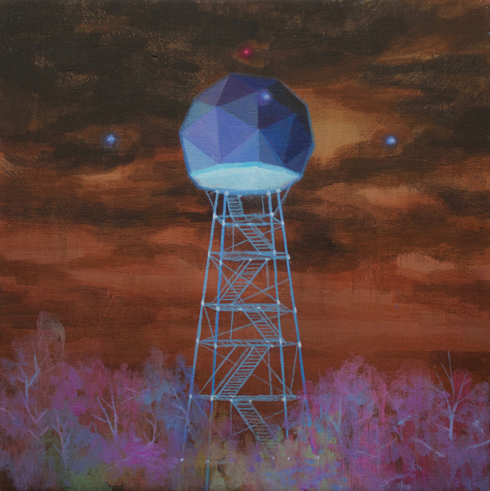 Eli McMullen Signals acrylic on panel 8_x8_ $600 2017.jpg