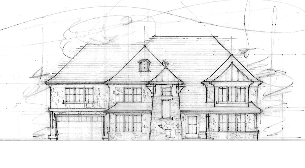 Front Elevation Drawing