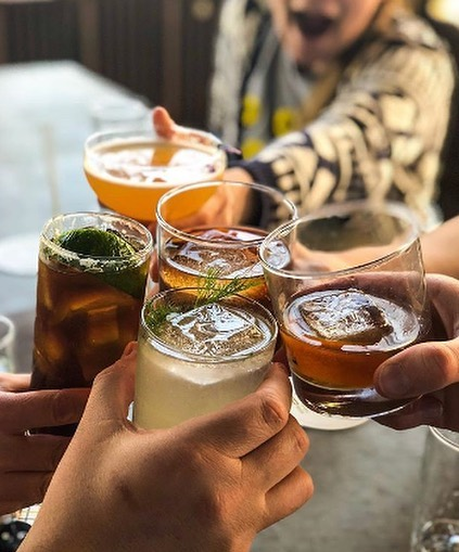 Cheers to summer, and six new cocktails at @tattersalldistilling 📷: @tattersalldistilling