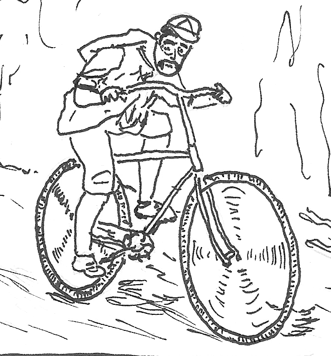 Bicycle History Cartooning Project