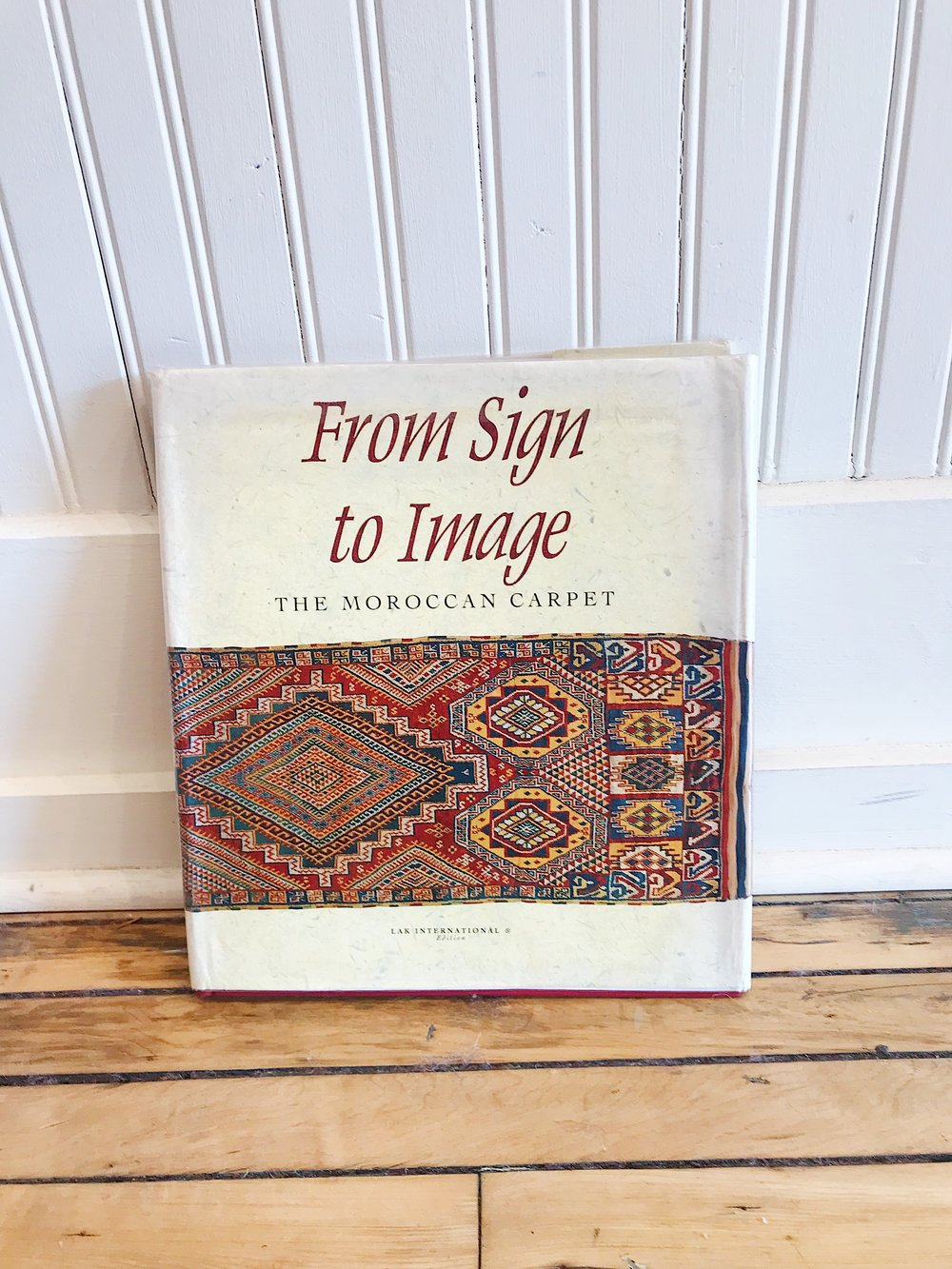 """From Sign to Image: The Moroccan Carpet,"" by Abdelkebir Khatibi and Ali Amahan, 1994"