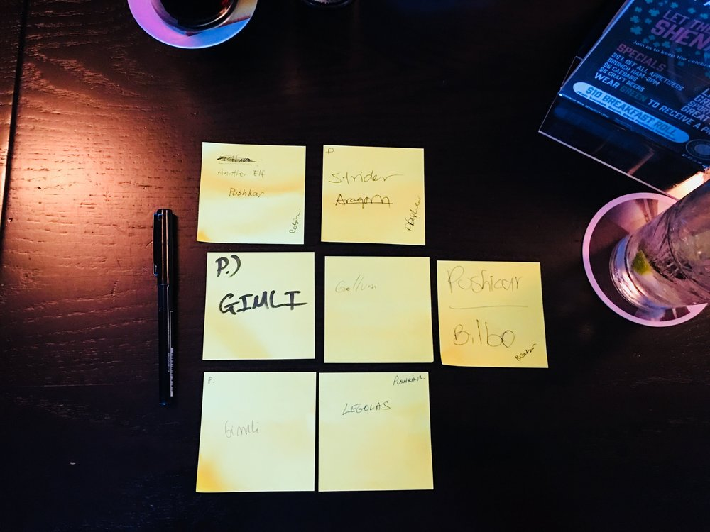 Sticky notes & markers - The use of these simple tools is something deeply integrated into the agile methodology, both Scrum and Kanban rely on said tools. But these were not limited to each sprint as I also used them to run some of the team retrospectives.