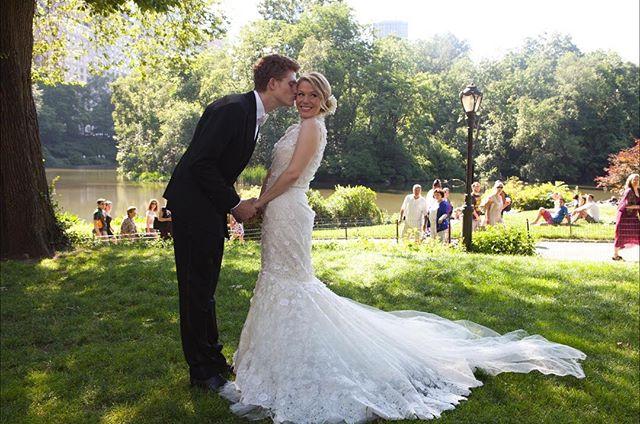 Wishing Noelle & Evan a very happy {side} KICKASS #anniversary - - #Sidekickass #weddingseason #kickassbride #instawedding #instaanniversary #wedding #happyanniversary #nycwedding #centralpark #sidekickevents #love #mrandmrs #bride #groom #sidekickbride