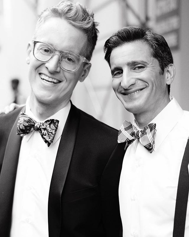 Wishing Jeff & Brad a very happy {side} KICKASS #anniversary — 📷: @belathee . . . . #dudewheresmybride #wedding #weddingnyc #sidekickass #sidekickevents #sidekickgrooms #nyc #loveislove🌈 #loveislove #museumofthemovingimage #sidekickass #anniversary #happycouple #happyanniversary #weddinginspo #weddingseason