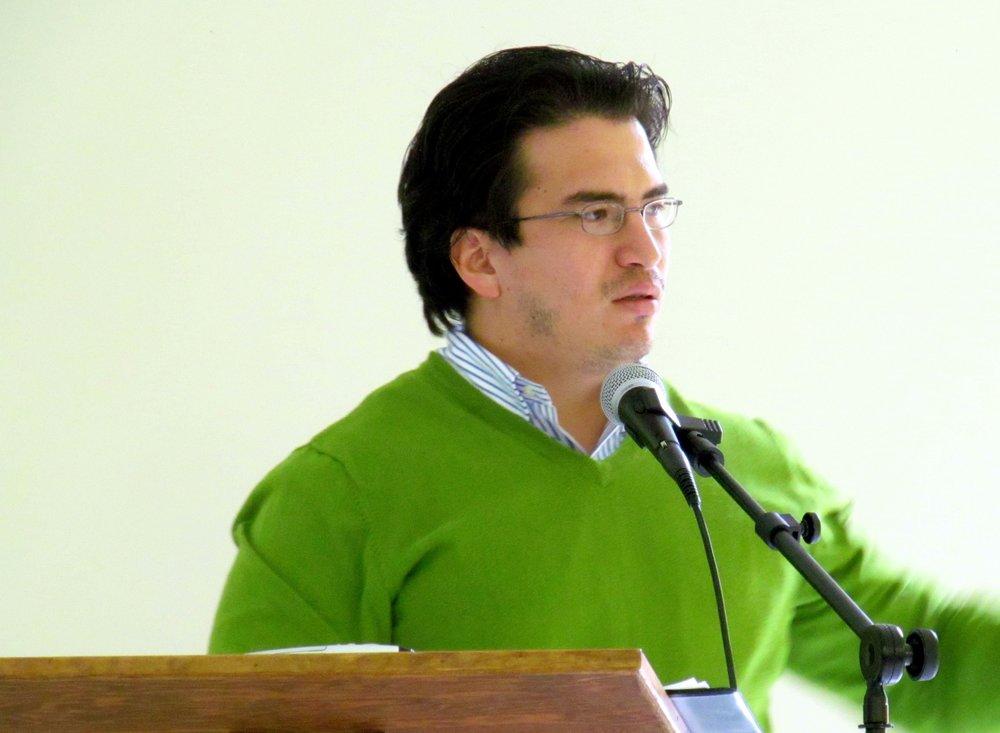 Pablo Ayllón, 1.5 generation Peruvian, Grace Presbyterian, Dalton, GA