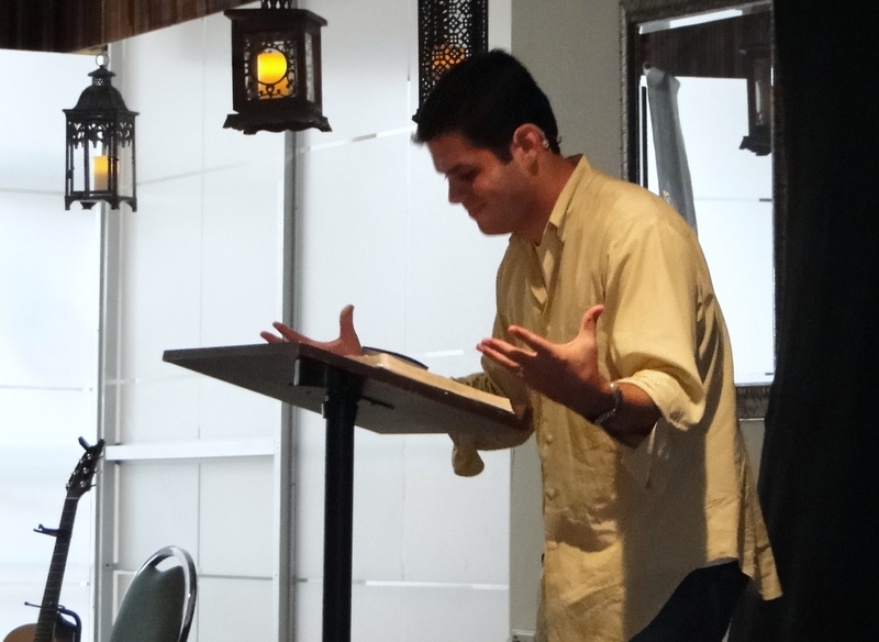 Ronnie Garcia, Second generation Mexican, La Travesia, San Juan, PR