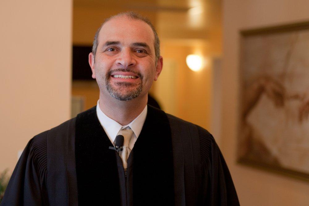 Hernando Sáenz, 1.5 generation Colombian,  MNA Hispanic Ministry Coordinator, Atlanta, GA