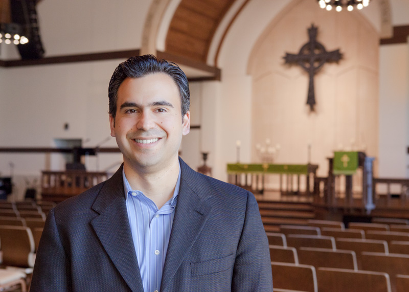 Juan Carlos Martínez, First generation Mexican, RUF minister at Rice University, TX