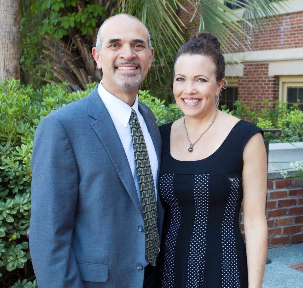 Rev. Hernando Sáenz, Ministry Coordinator, and his wife, Debbie, Chief Creative Officer