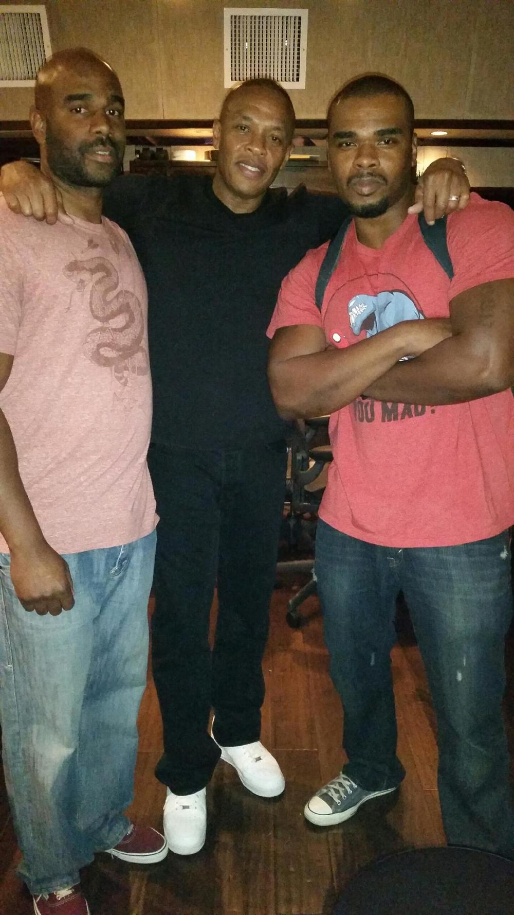 Phil Mike and Dre oct 2 2014 Record One.jpg