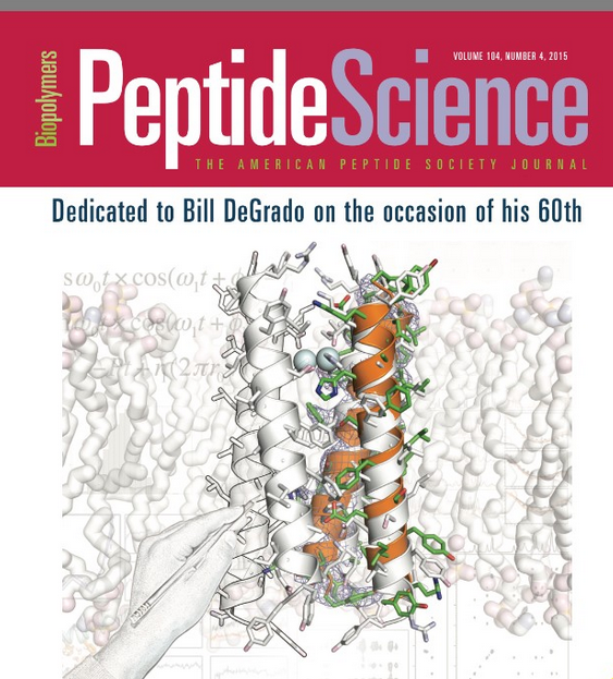 "Source: "" Big Bad Bill is sweet William now ."" Joel Schneider. Editorial.  Peptide Science . Vol 104, Issue 4 (July 2015), pages v-vi."