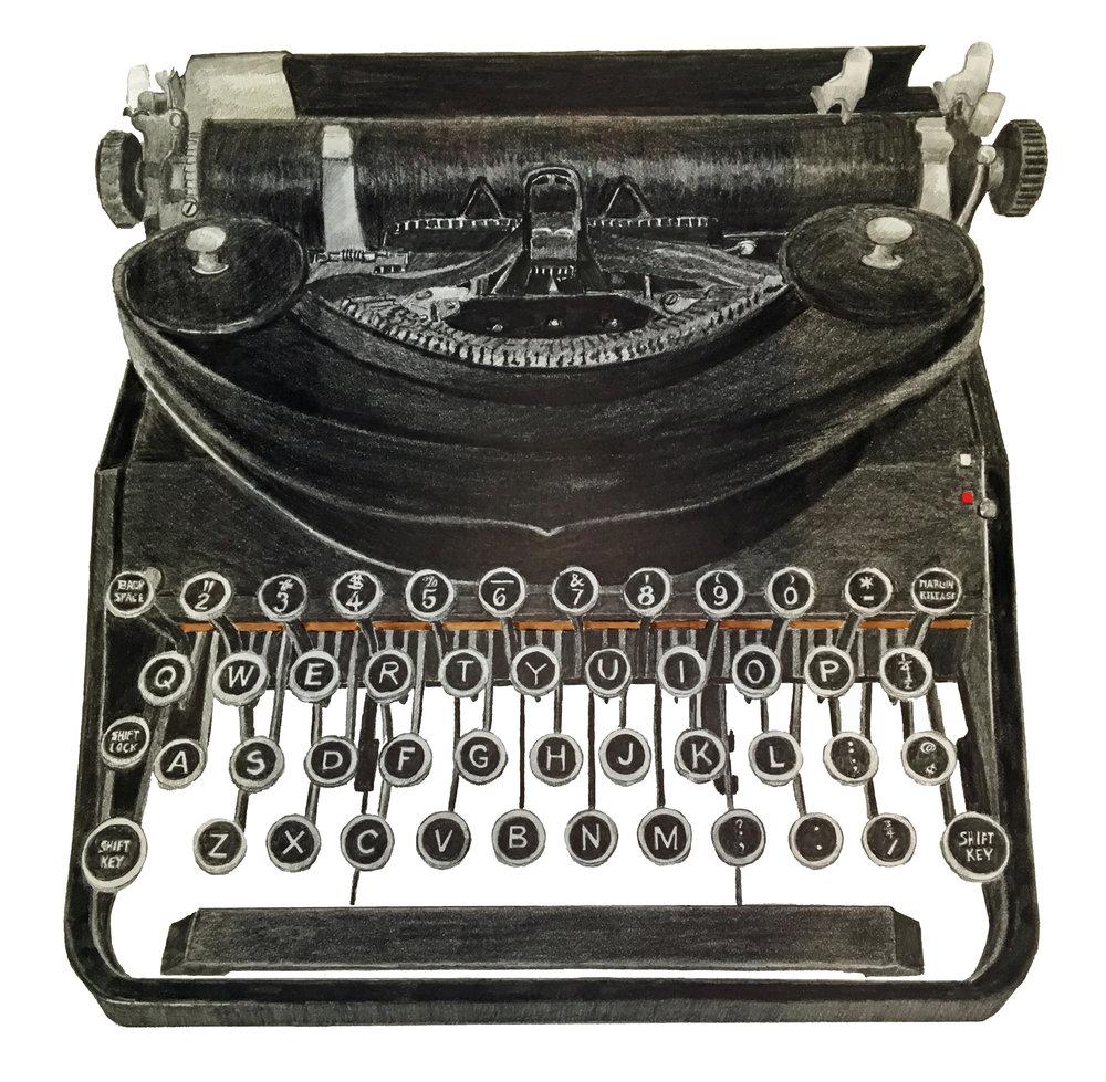 Davidson Graphite typewriter.jpg
