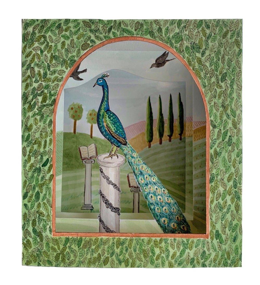 A Peacock Landscape