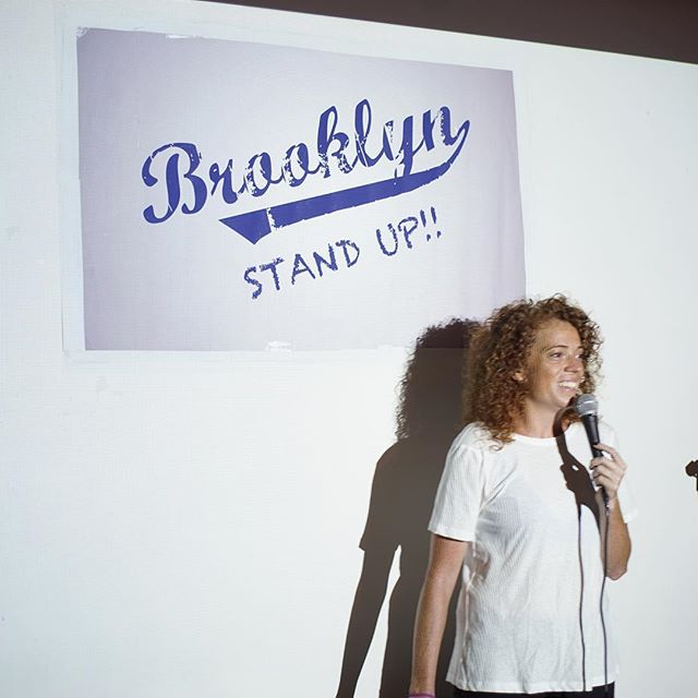 "@michelleisawolf had the audience crying real tears at the last ""Brooklyn, Stand Up"" show! 😂#brooklynstandupcomedy #COMEDY #FREENYC #NYCCOMEDY #ilovebrooklyn"