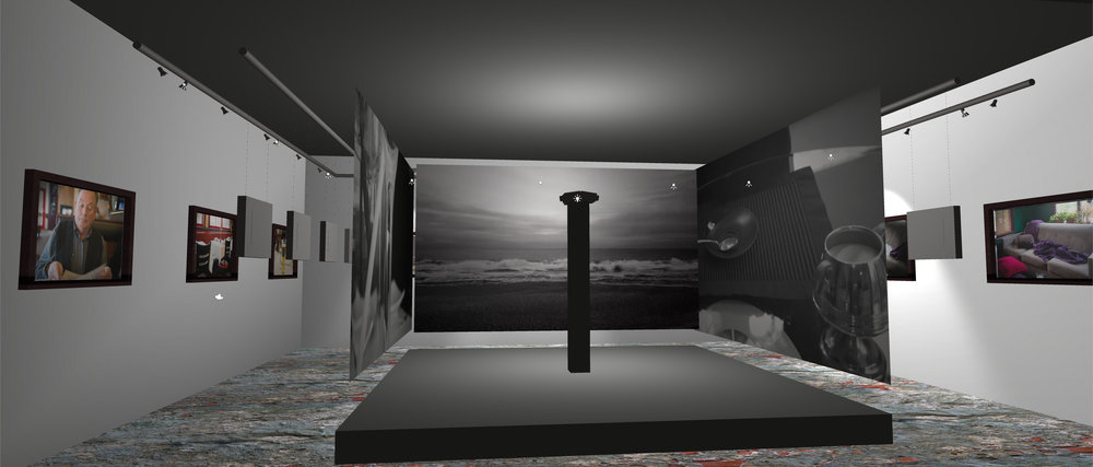 Simulation of Situating Life installation