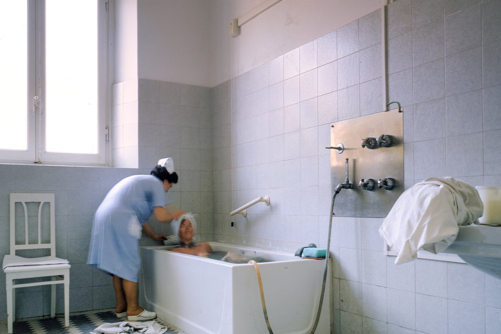 Mud bath, Montecatini, 1989