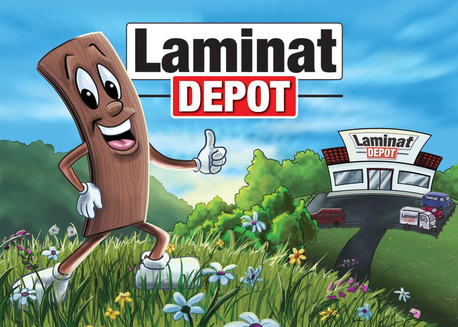 Laminat Depot Coloring Book Cover