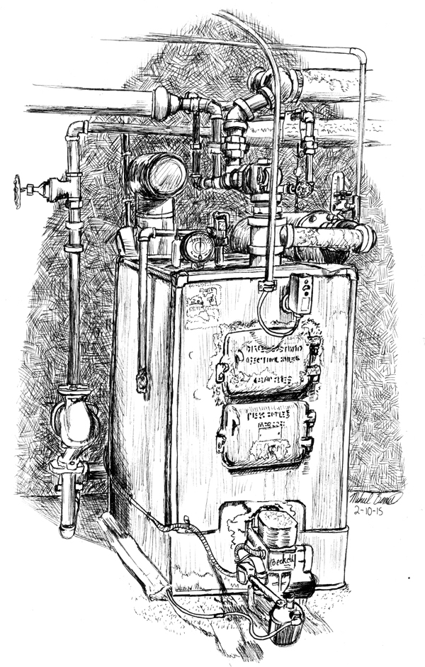 Hundred Year Old Boiler