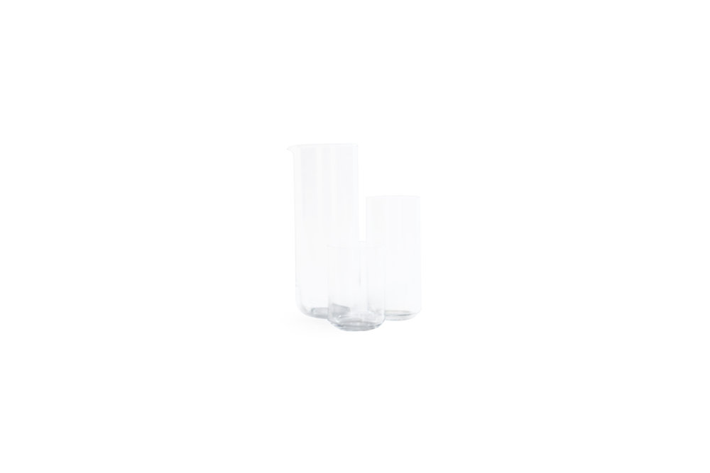 simple glassware tall glass egan rittenhouse