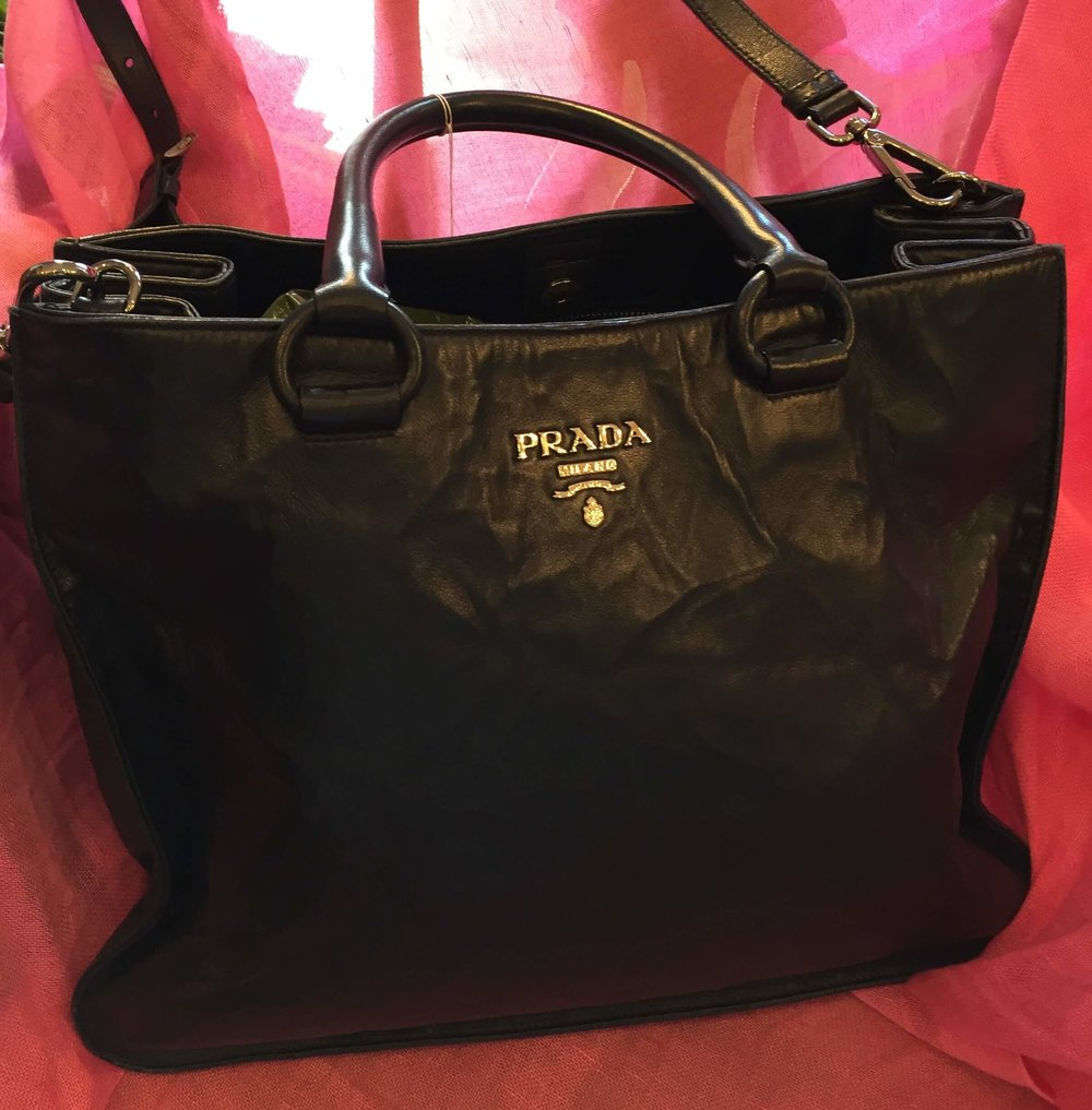 Prada navy napa lamb bag £350 (1).jpg