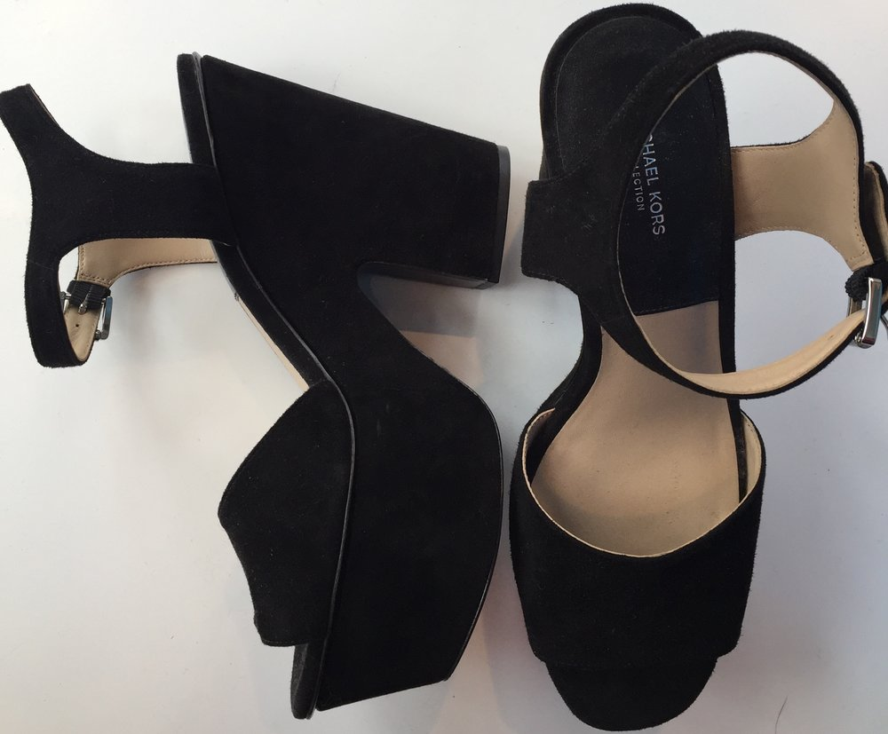 Michael Kors black suede platforms £199 .jpg