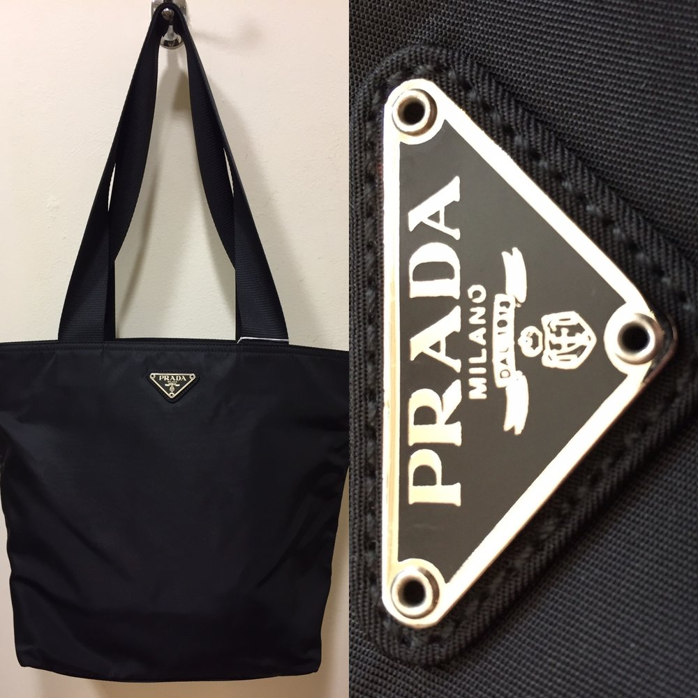 Black fabric Prada bag £199.jpg