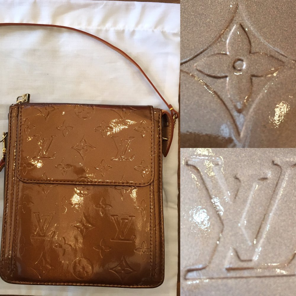 Louis Vuitton bronze bag £199jpg.JPG