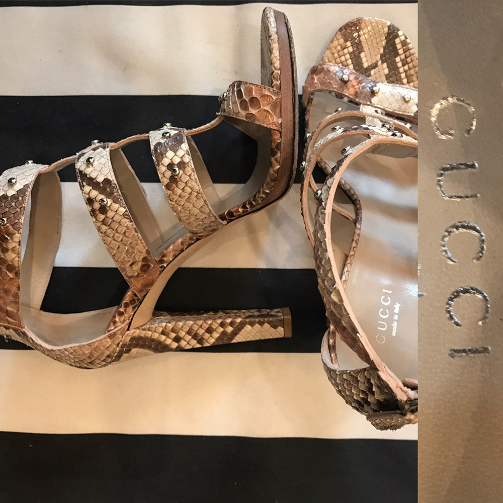 Size 40.5 Gucci strappy stilettos £199.jpg