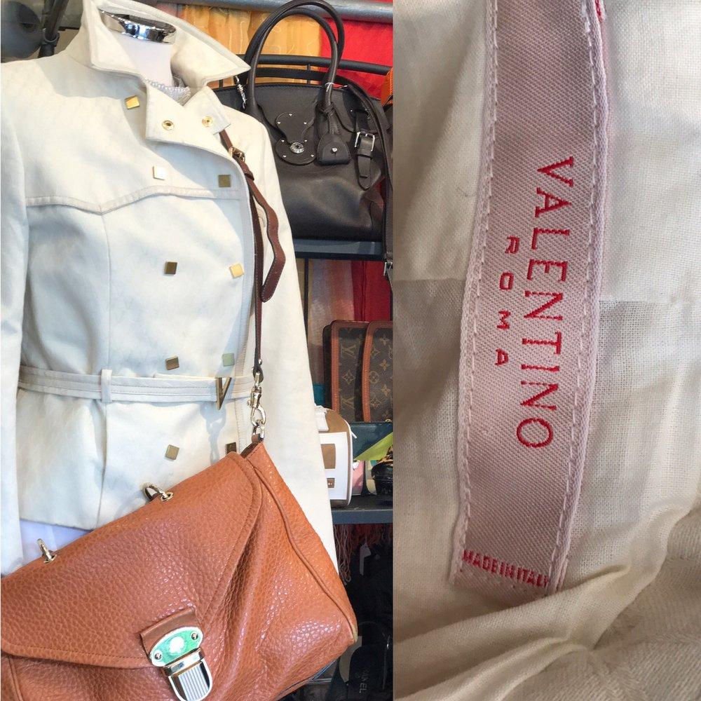 Valentino - Roma cream jacket size 10.JPG