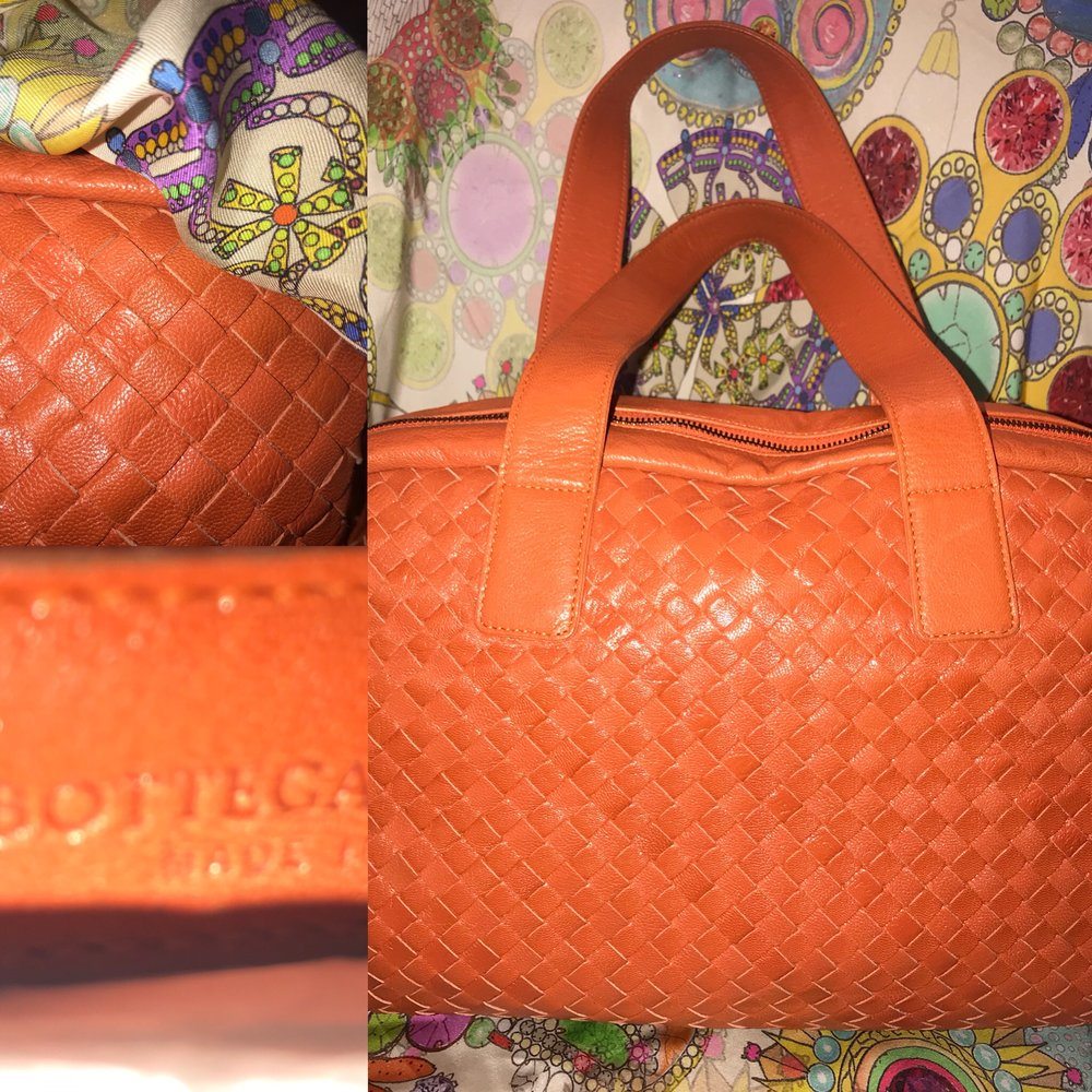 Bottega Venneta orange bag £799.JPG