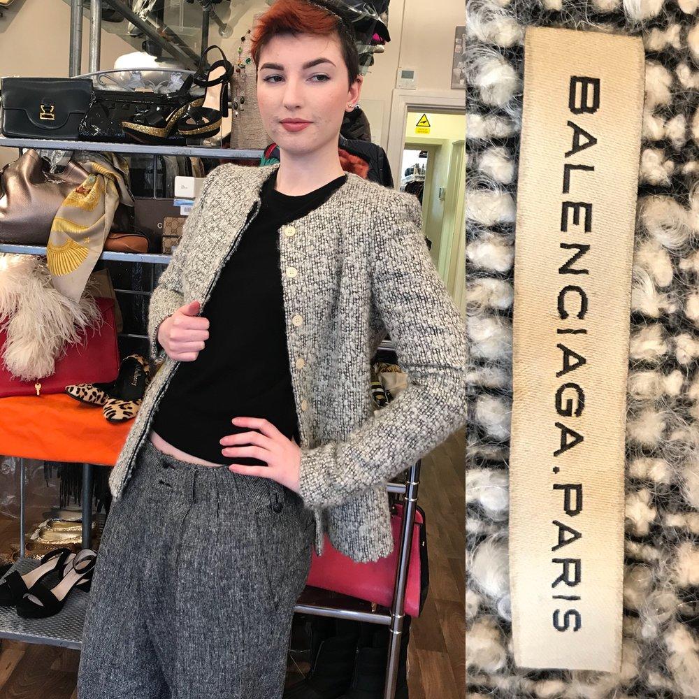 Balenciaga jacket size 10 £199.JPG