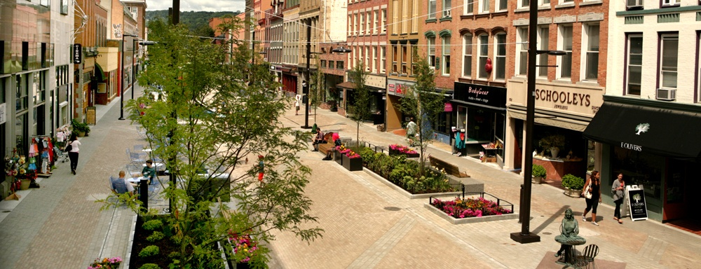 Downtown Ithaca Commons