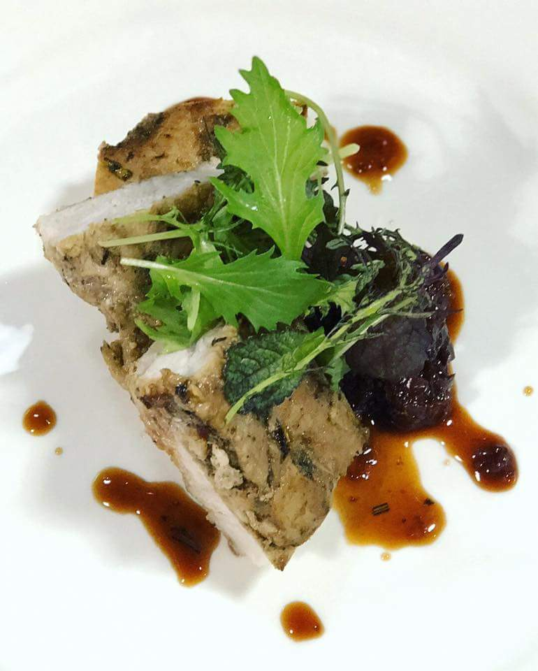 Finger Lakes Bourbon braised Pork Belly