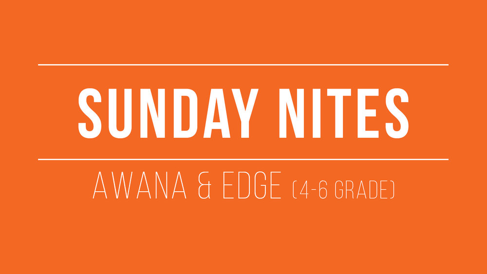 For more info on Sunday Nites in Kids Min  click here .