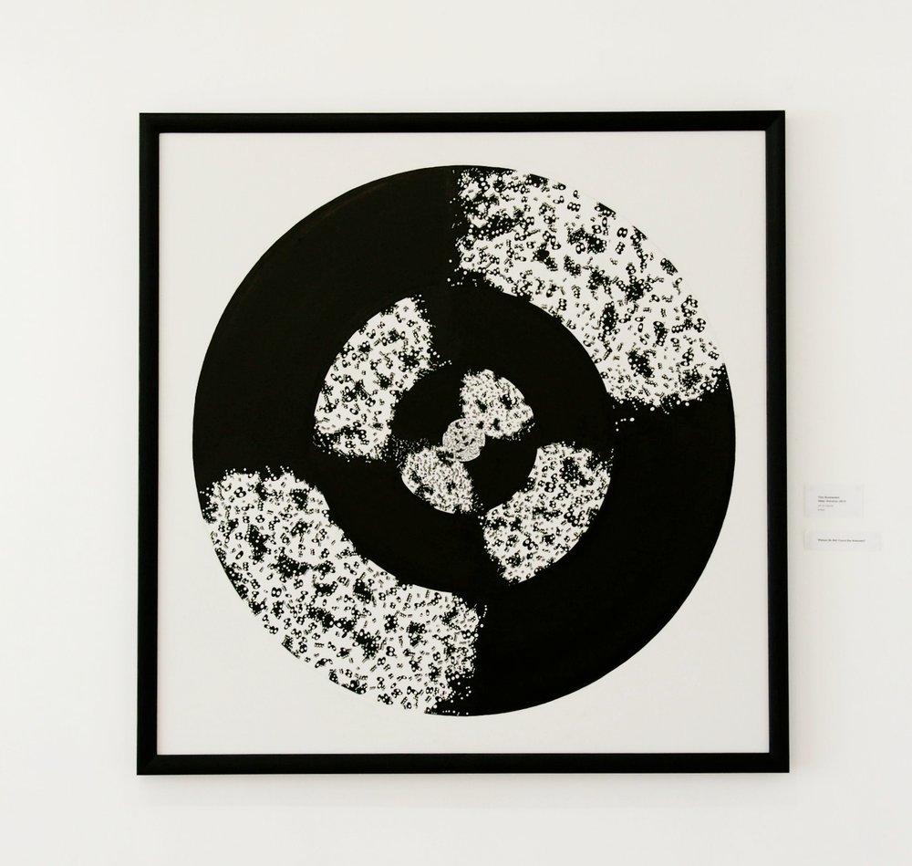 """Title :""""Other Universe """"   Size : 140 cm x 140 cm"""