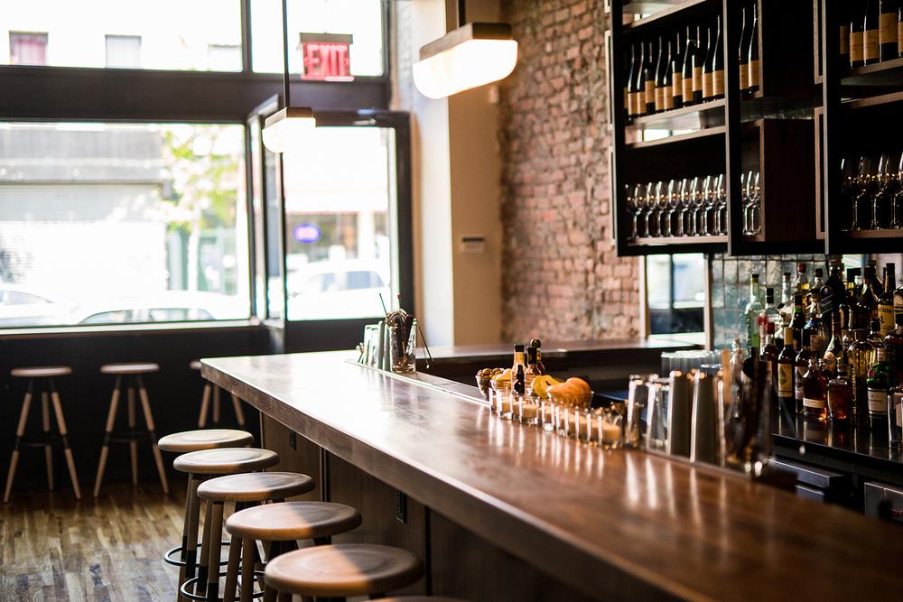 Crown Heights Restaurant - BKW Bar Interior