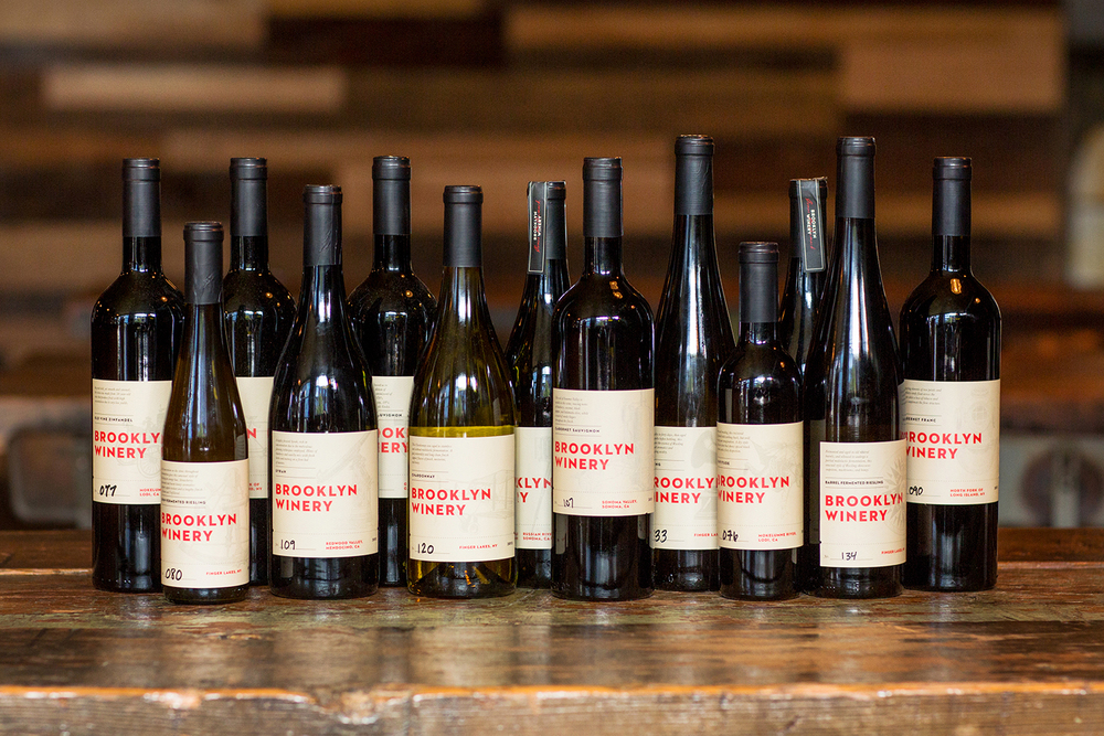 We have a full portfolio of Brooklyn made wines.
