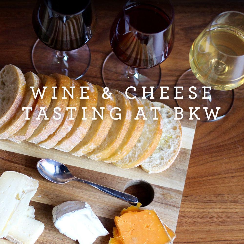 Wine Cheese Tasting Class